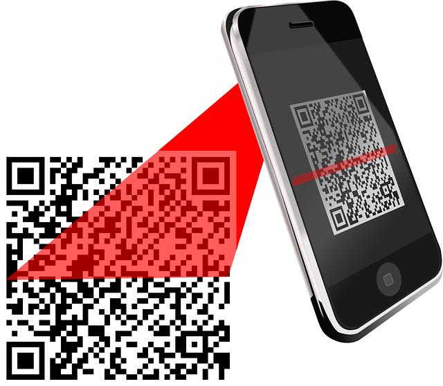 skener čárového kódu