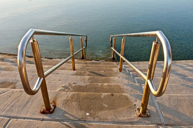 schody do vody