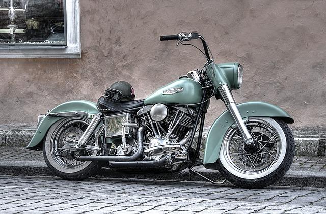 Výstavní motorka