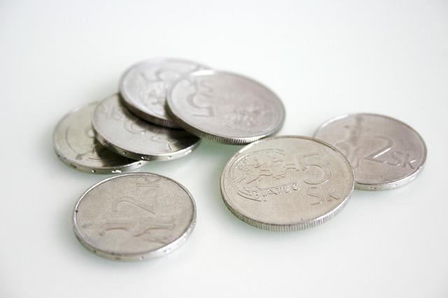 staré mince, slovenská měna